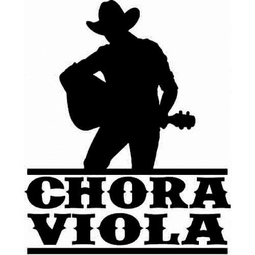 Adesivo Country Chora Viola SC3715