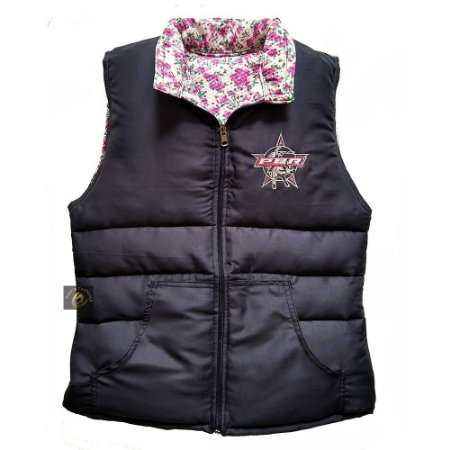Colete County Feminino PBR/Floral SC4530