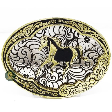 Fivela Country Wild Horse SC1786