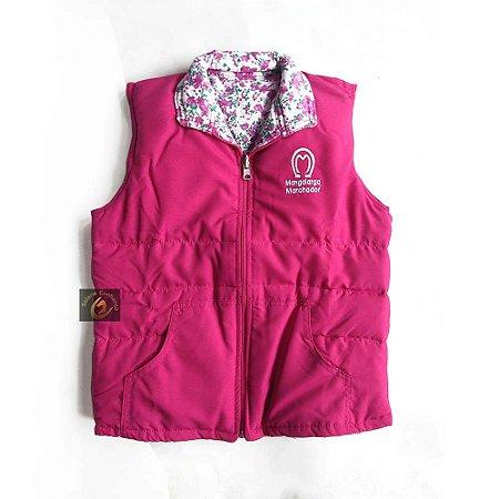 Colete Infantil Feminino Mangalarga Rosa SC4581