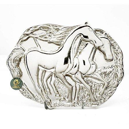 Fivela Country Cowboy Two Horse SC1771
