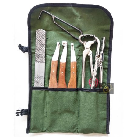 Kit para Casqueamento Bolsa Mangalarga Ferrador SC9058