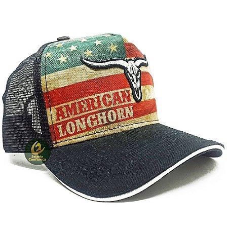 Boné Country American Longhorn United States SC4087