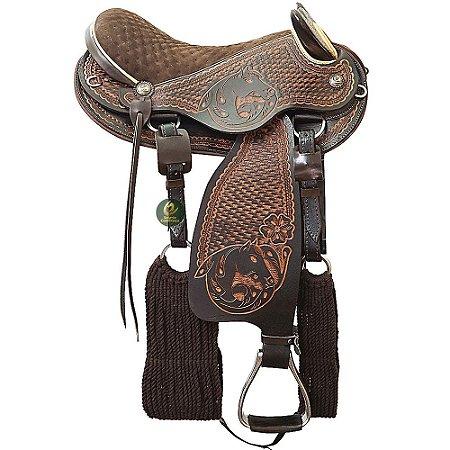Sela de Cabeça Top 10 Cavalo de Ouro SC2175