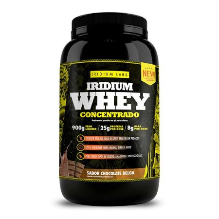 Iridium Whey Concentrado Sabores - WPC