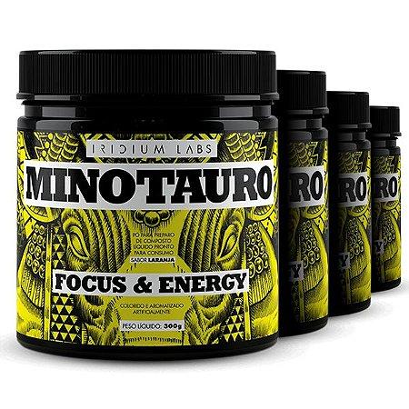 Kit 4 Potes de Minotauro - Focus & Energy