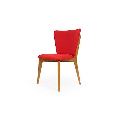 Cadeira Bumba - Vermelho e Mel