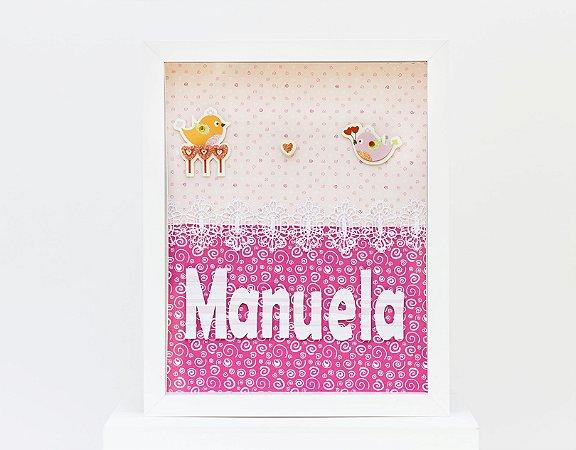 Porta de Maternidade Scrapbook (Temas variados - Meninas)