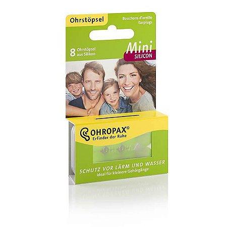 Ohropax Mini Protetor Auricular de Silicone 4 Pares 23 dB