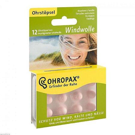 Ohropax Protetor Auricular de Lã de Vento 6 Pares