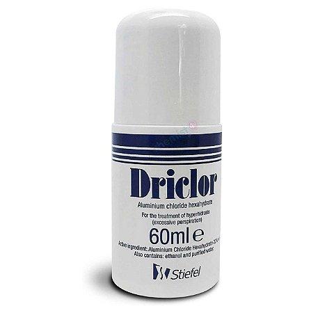 DRICLOR ROLL-ON 60ml - PROMOÇÃO CX. C/ PEQ DEFEITO/VAZAMENTO