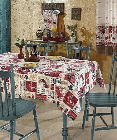 Toalha de Mesa 140x210 Clean Estampado Estela - Dohler