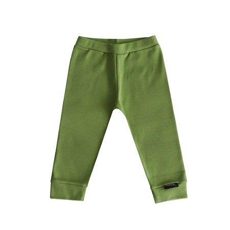 Calça com Elástico Verde G - Nous Baby