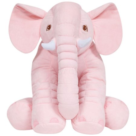 Almofada Elefante Gigante Rosa - Buba