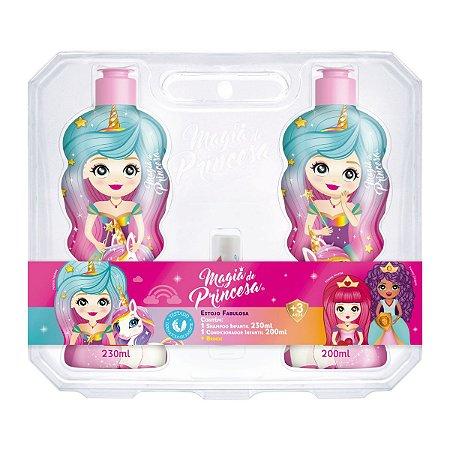 Shampoo e Condicionador Princesa Fabulosa - Magia de Princesa
