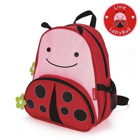 Mochila Joaninha Ladybug Skip Hop Infantil