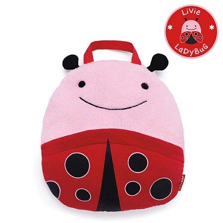 Cobertor Skip Hop Linha Zoo Tema Joaninha Livie Ladybug