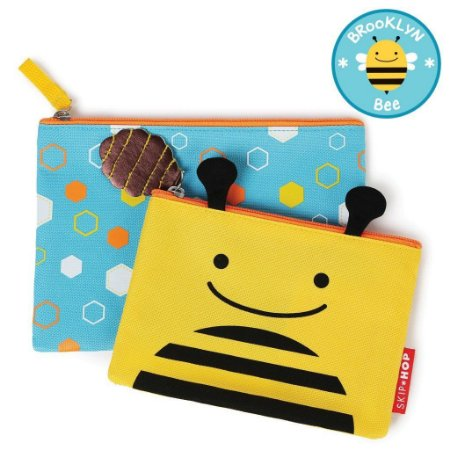 Kit Necessaire Skip Hop Linha Zoo Abelha Brooklyn Bee