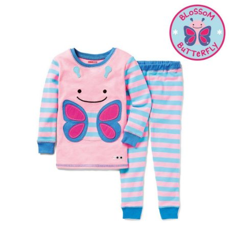 Pijama Linha Zoo Skip Hop Zoojamas Tema Borboleta Blossom Butterfly