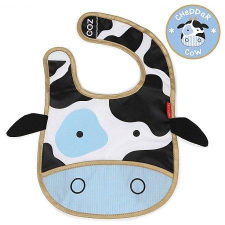 Babador Impermeável Skip Hop Linha Zoo Tema Vaca Cheddar Cow