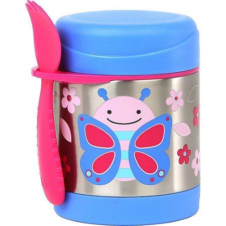 Pote Térmico Skip Hop Linha Zoo Borboleta Blossom Butterfly