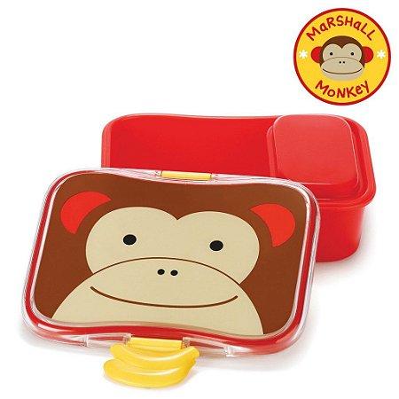 Kit Lanche Skip Hop Zoo Macaco Marshal Monkey