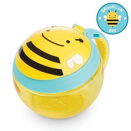 Potinho de Lanche Snack Skip Hop Linha Zoo Abelha Brooklyn Bee
