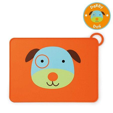 Jogo Americano Skip Hop Linha Zoo Silicone Cachorro Darby Dog