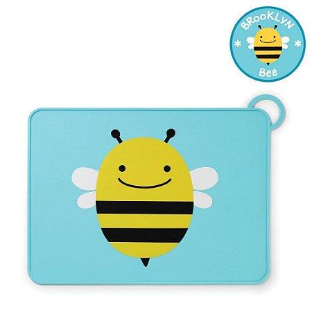 Jogo Americano Skip Hop Linha Zoo Silicone Abelha Brooklyn Bee