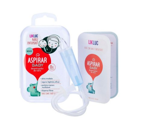 Aspirador Nasal Aspirar Baby com Estojo - LikLuc