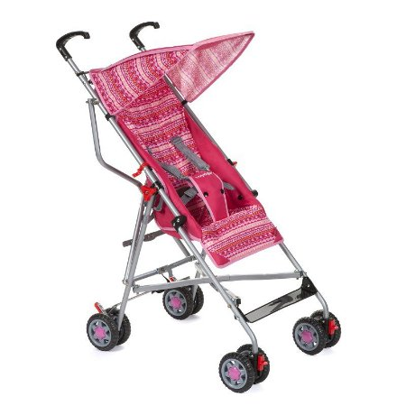 Carrinho de Bebê Guarda Chuva Slim Voyage Rosa