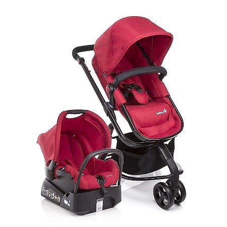 Carrinho de Bebe Travel System Mobi Safety 1st Full Red Vermelho