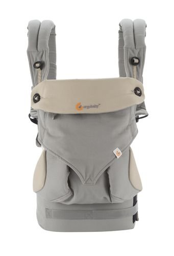 Canguru Ergobaby 360 Baby Carrier Grey Cinza