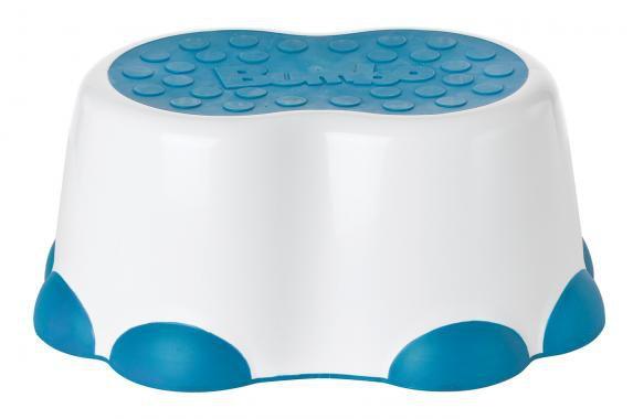 Banquinho para Higiene Azul - Bumbo