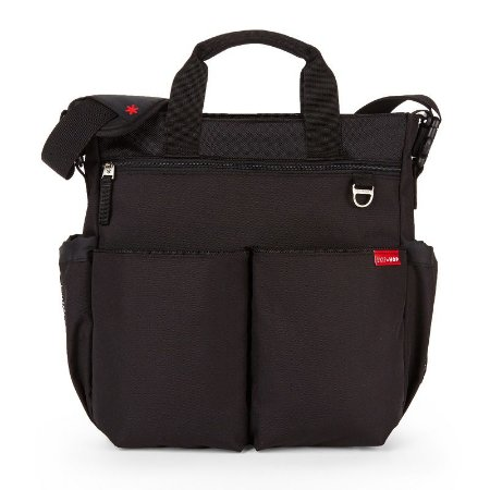 Bolsa Maternidade Diaper Bag Duo Signature Black - Skip Hop