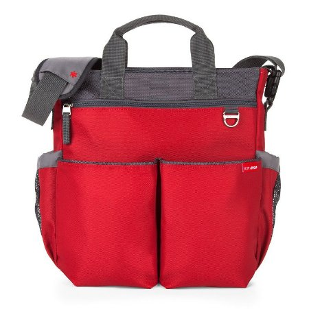 Bolsa Maternidade Diaper Bag Duo Signature Red Vermelha Skip Hop