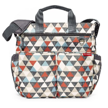 Bolsa Maternidade Diaper Bag Duo Signature Triangles Skip Hop