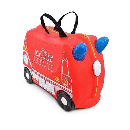 Mala de Viagem Infantil Bombeiro Fire Engine Frank - Trunki