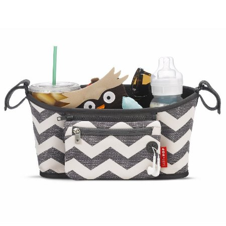 Bolsa Organizadora On The Go Stroller Organizer Chevron - Skip Hop