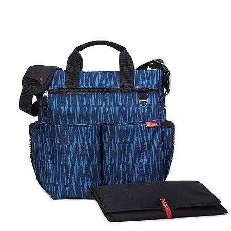 Bolsa Maternidade Diaper Bag Duo Signature Blue Graffiti Azul - Skip Hop