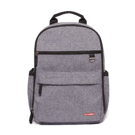 Bolsa Maternidade Diaper Bag Duo Signature Mochila Backpack Heather Grey - Skip Hop