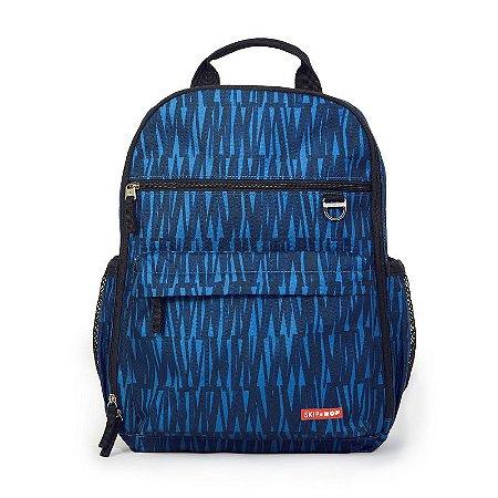 Bolsa Maternidade Diaper Bag Duo Signature Mochila Backpack Blue Graffiti Skip Hop
