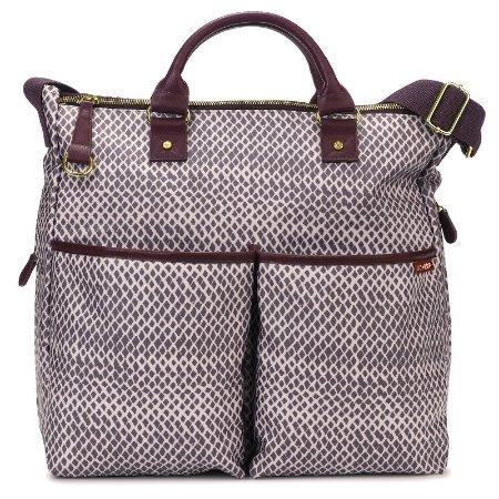 Bolsa Maternidade Diaper Bag Skip Hop Duo Special Edition Plum Sketch