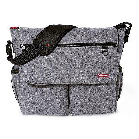 Bolsa Maternidade Skip Hop Diaper Bag Dash Signature Heather Grey