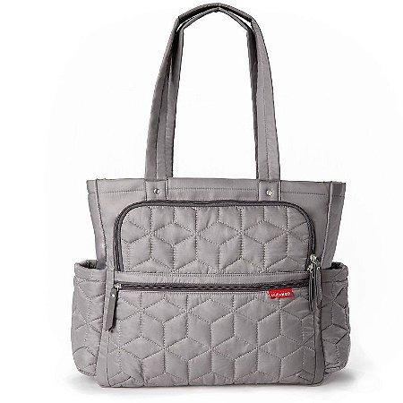Bolsa Maternidade Diaper Bag Forma Pack & Go Grey Cinza - Skip Hop