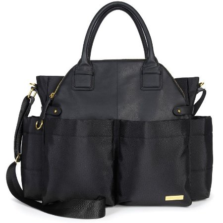 Bolsa Maternidade Diaper Bag Chelsea Black Preta - Skip Hop