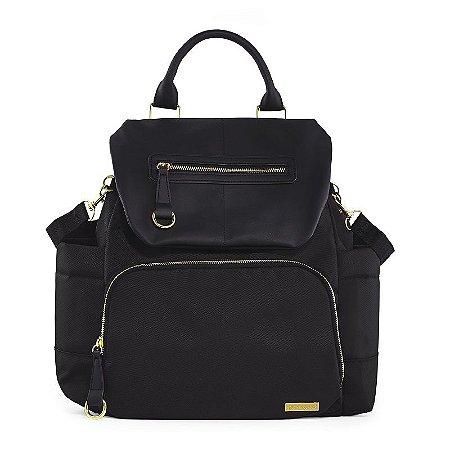 Bolsa Maternidade Skip Hop Diaper Bag Chelsea BackPack Black Preta Nova