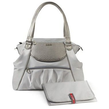 Bolsa Maternidade Skip Hop Diaper Bag Studio Select Pewter