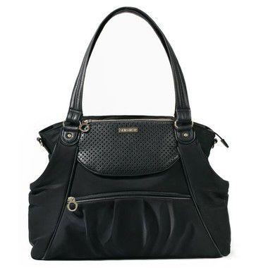 Bolsa Maternidade Skip Hop Diaper Bag Studio Select Black Preta