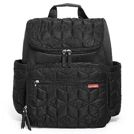 Bolsa Maternidade Skip Hop Diaper Bag Forma BackPack Black Preta Nova